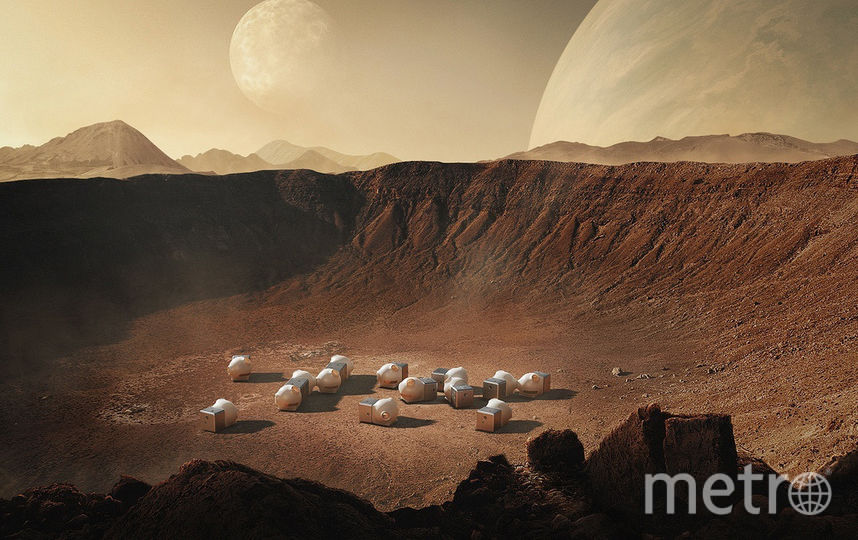 В Mars Case можно будет жить на Марсе. Фото Open Architecture
