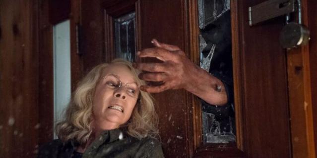 """Кадр из фильма """"Хэллоуин""""."""