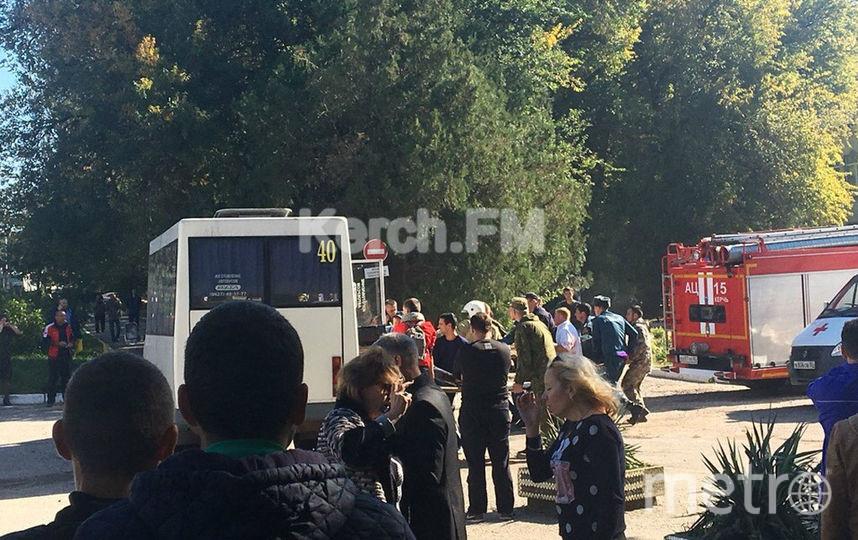 Фото с места происшествия. Фото паблик Керчь FM в социальной сети ВК