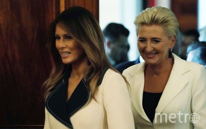 Дональд и Мелания Трамп. Фото архивное фото, Getty