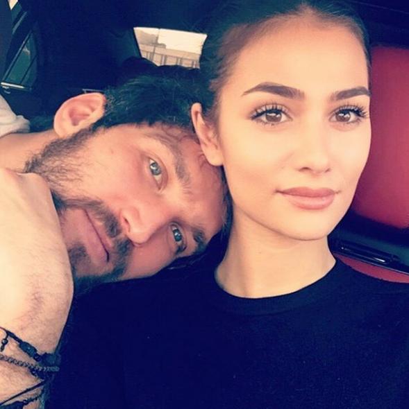 Анастасия Шубская и Александр Овечкин. Фото www.instagram.com/nastyashubskaya