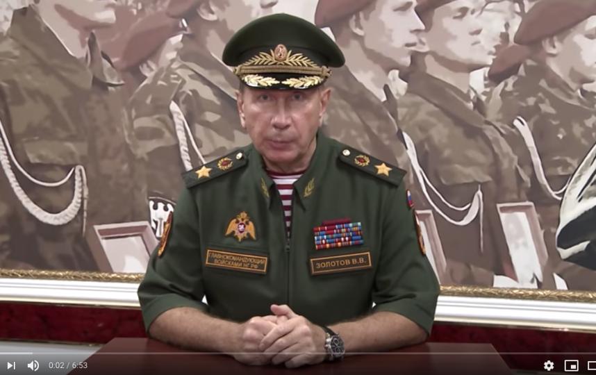 Виктор Золотов. Фото скриншот https://www.youtube.com/watch?v=lZd1yUZD30g