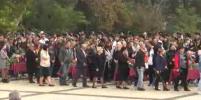 В Керчи простились с жертвами трагедии в колледже