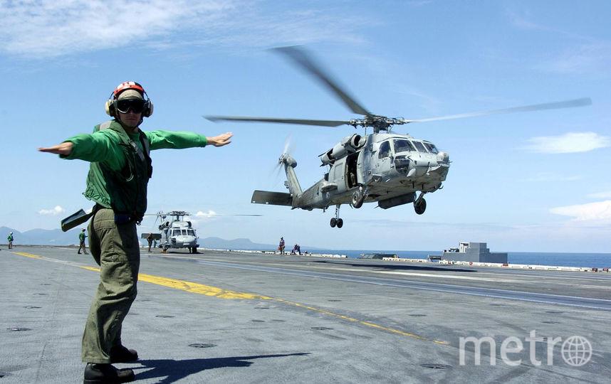 Вертолёт MH-60 Seahawk американских ВМС. Фото Getty