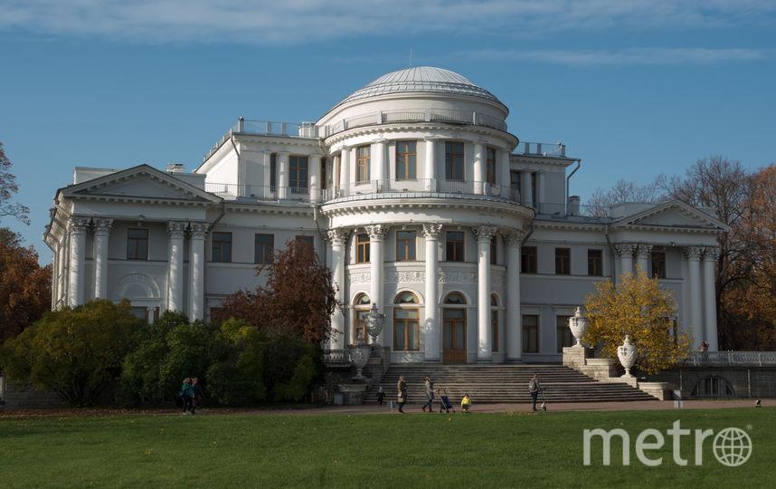 "Елагиноостровский дворец. Фото Святослав Акимов, ""Metro"""