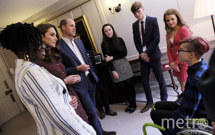 Фото опубликованы в Twitter Кенсингтонского дворца.