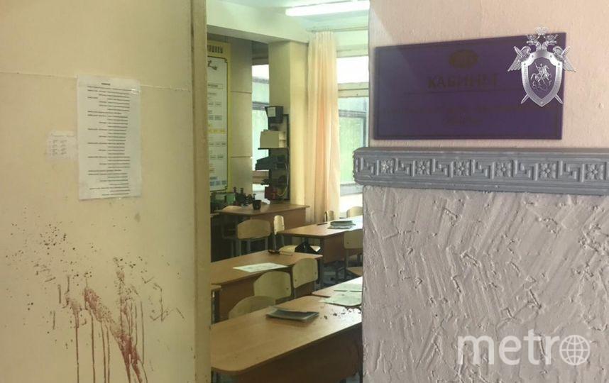 Колледж, где произошла трагедия. Фото СК РФ.