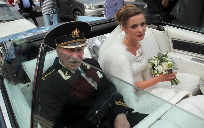 """Свадьба Ивана Краско и Натальи Шевель в 2015 году. Фото """"Metro"""""""