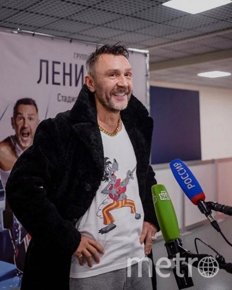 Сергей Шнуров. Фото Скриншот Instagram/shnurovs