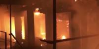 Рушатся кровля и стены: площадь пожара на крупнейшем заводе Северной Осетии увеличилась