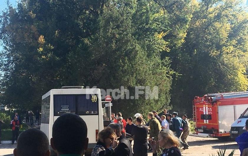 Количество пострадавших при взрыве и стрельбе в Керчи достигло 73 человек. Фото скриншот видео Kerch.FM