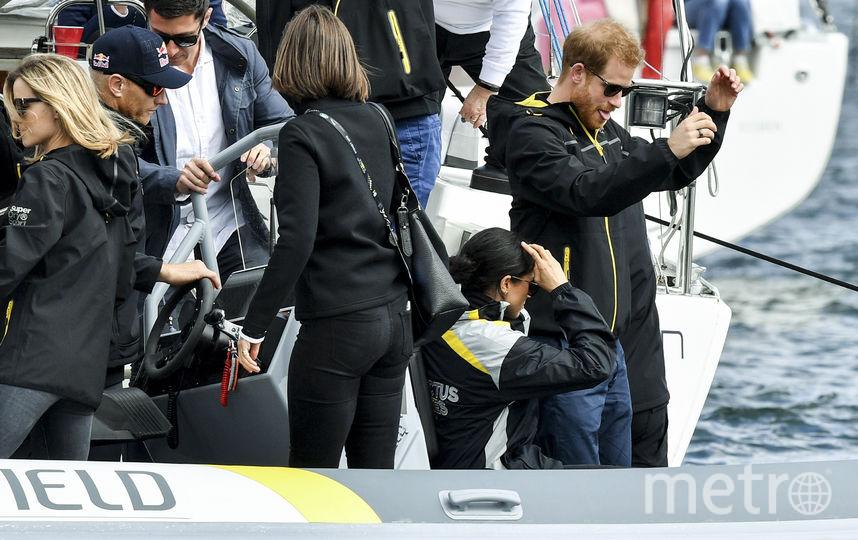 """Принц Гарри и Меган Маркл приехали в Австралию на """"Игры непокорённых"""". Фото AFP"""