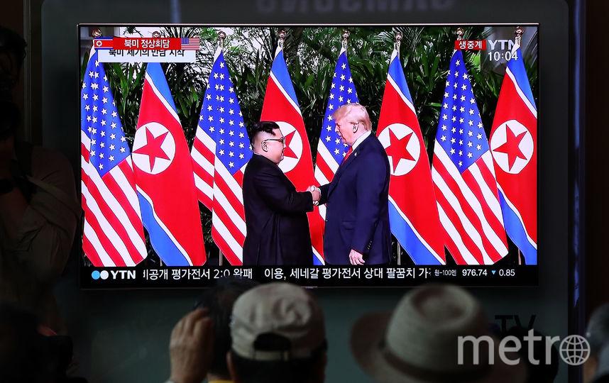Дональд Трамп рассказал подробности их отношений с Ким Чен Ыном. Фото Getty