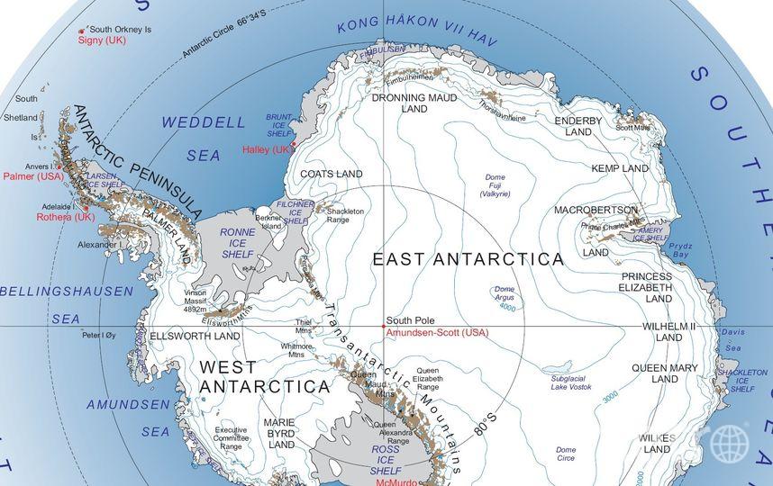 Этот хребет является одним из самых длинных на Земле. Фото Wikipedia