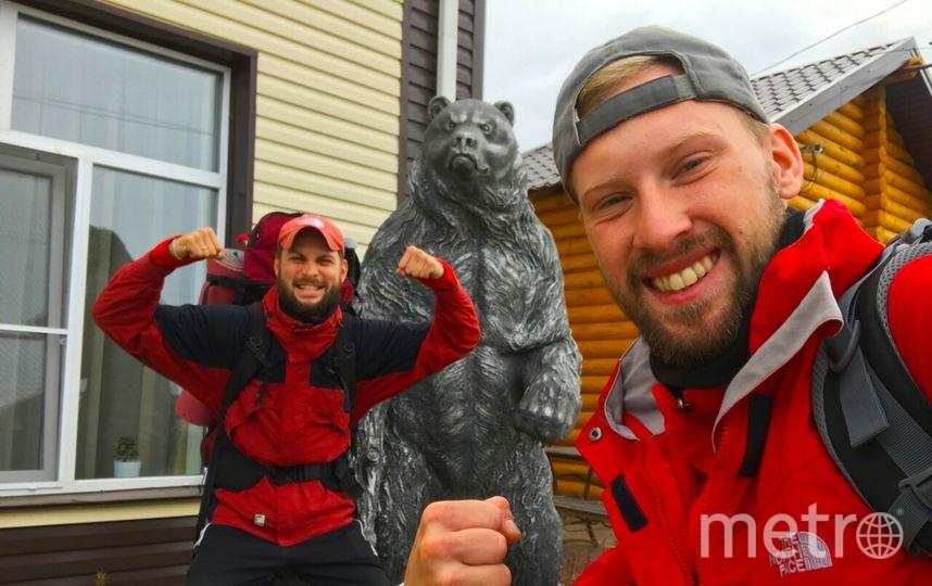 Путешественники из Петербурга пешком прошли более 1600 километров за 35 дней. Фото VK  Серж Алексеевич