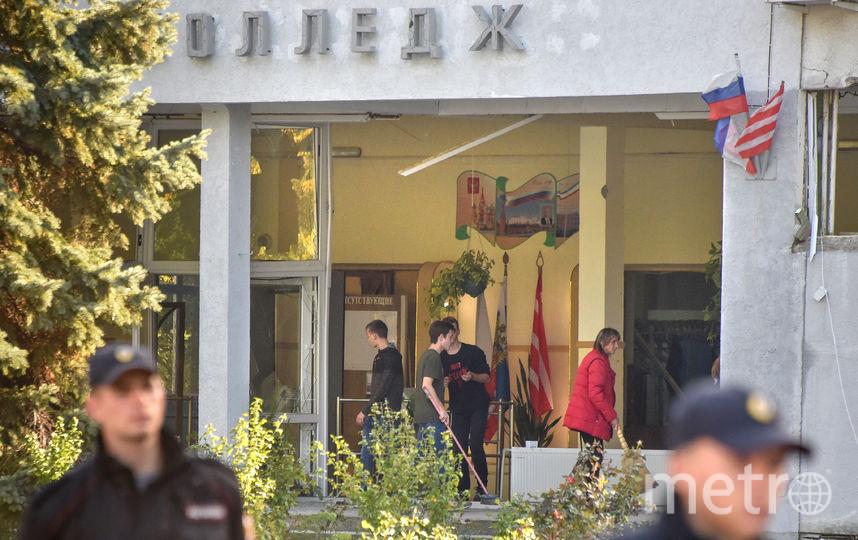 В Керченском колледже произошла трагедия: студент 4-го курса взорвал взрывное устройство и устроил стрельбу. Фото AFP