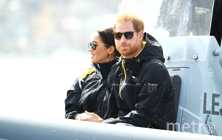 Меган и Гарри на морской прогулке. Фото Getty