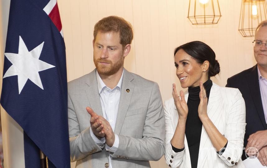 Принц Гарри и Меган Маркл в Австралии. Фото Getty