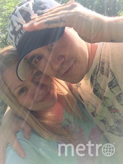 Дарья и Сергей. Фото предоставила Дарья Питеря