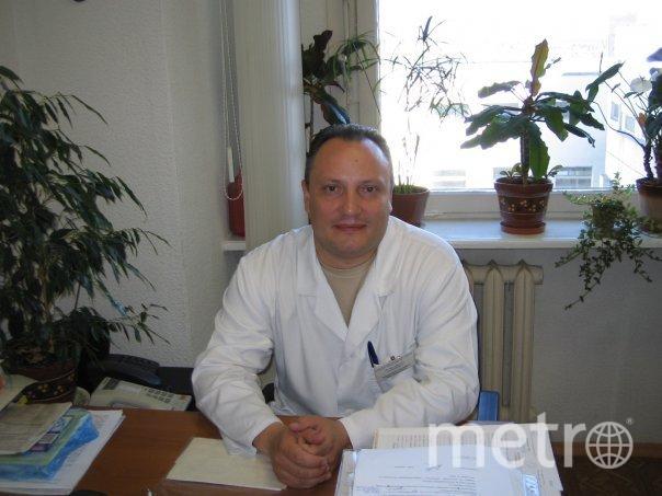 Врач, лечивший Сергея Игнашина. Фото предоставил Игорь Степанищев
