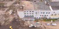 При взрыве на заводе в Гатчине были повреждены 16 жилых домов