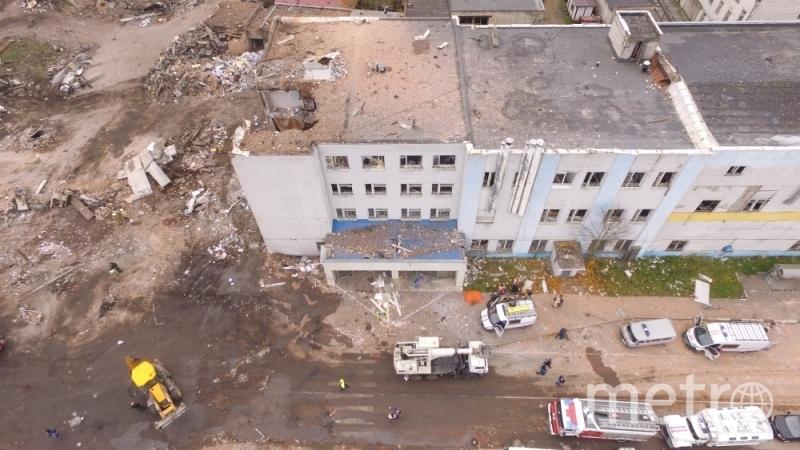 Последствия взрыва в Гатчине. Фото http://47.mchs.gov.ru