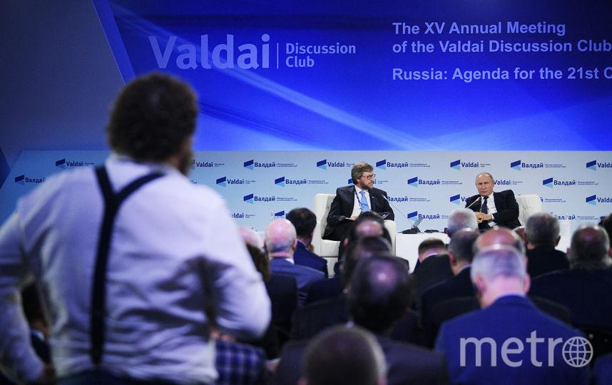 """Песков прокомментировал слова президента на форуме """"Валдай"""". Фото AFP"""