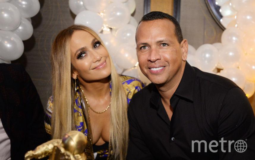 Дженнифер Лопес с мужем. Фото Getty