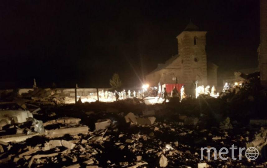 В результате взрыва на гатчинском заводе пострадали 16 домов. Фото Следком Ленинградской области.