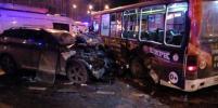 Водитель BMW, устроивший жуткое ДТП на Стачек, сбежал: фото