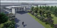 Стеклянный пешеходный мост свяжет районы Ховрино и Западное Дегунино в Москве