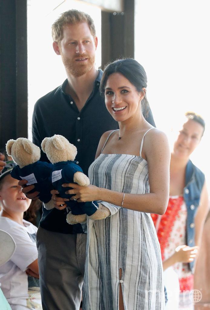 Меган Маркл и принц Гарри в Австралии. Фото Getty