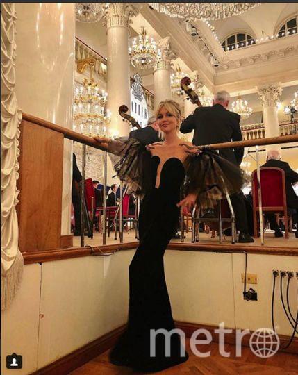 Бал Tatler-2018. Дарья Янина. Фото https://www.instagram.com/dashayanina/