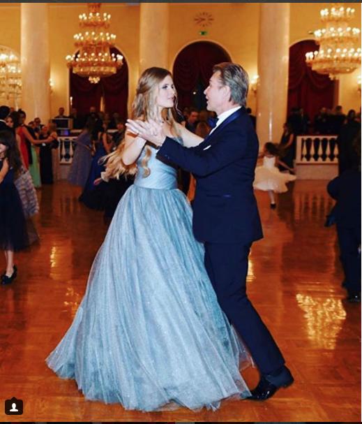 Александр Малинин с дочкой. Фото https://www.instagram.com/doktoremmamalinina/