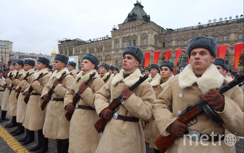 Торжественный марш на Красной площади в 2017 году. Фото Василий Кузьмичёнок