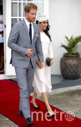 Меган Маркл и принц Гарри прибыли на Фиджи. Фото Getty