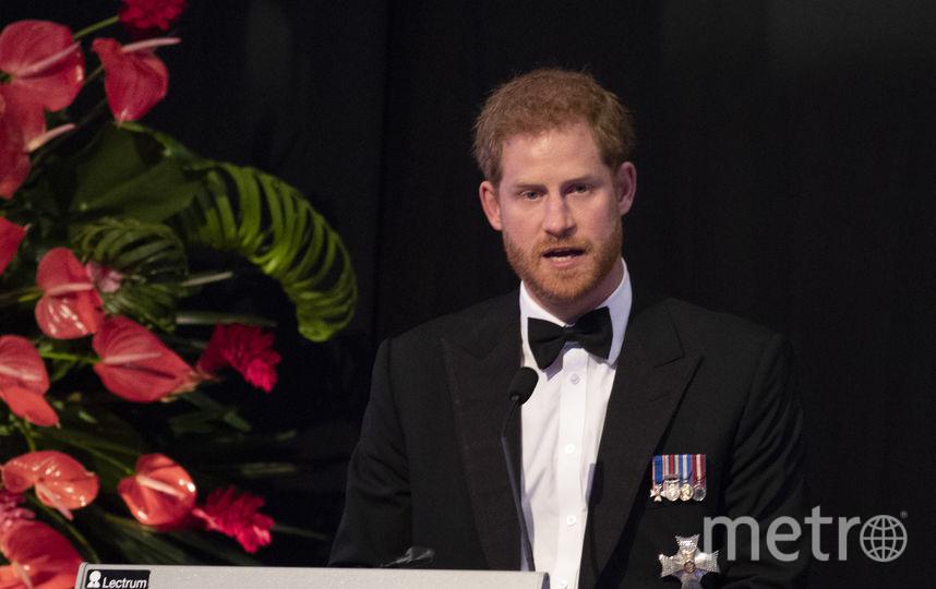 Принц Гарри на приеме. Фото Getty