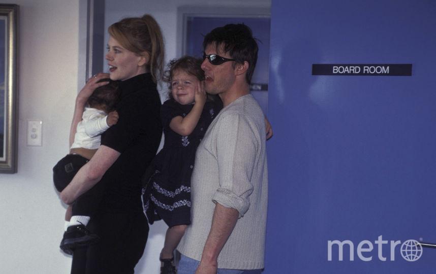 Николь Кидман и Том Круз с дутьми. Фото Getty