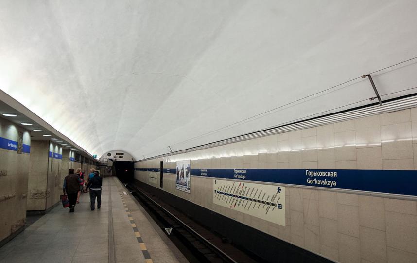 """Станция метро """"Горьковская"""". Фото Wikipedia"""