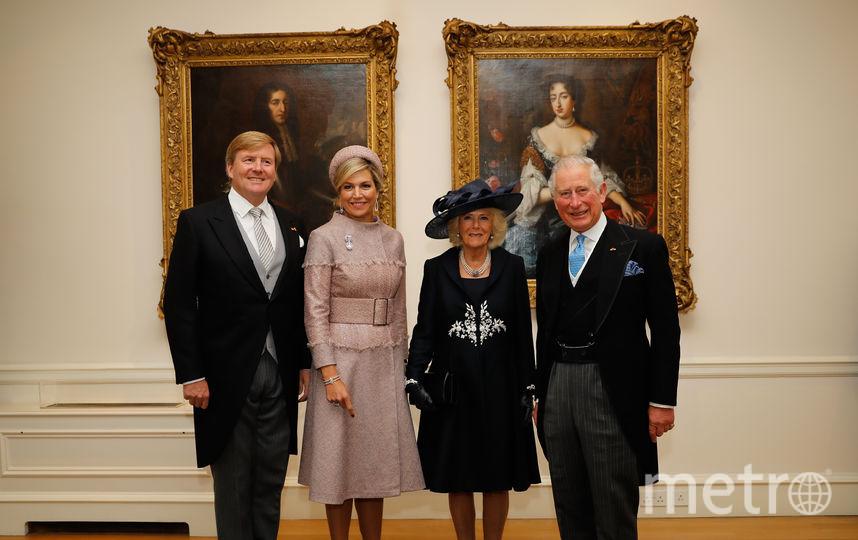 Король и королева Нидерландов с принцем Чарльзом и Камиллой. Фото Getty