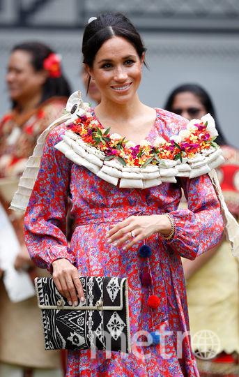 Меган Маркл на Фиджи. Фото Getty