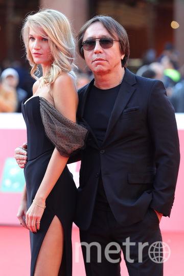 """На премьере фильма """"Донбасс.Окраина"""" в Риме. Ренат Давлетьяров с женой. Фото Getty"""