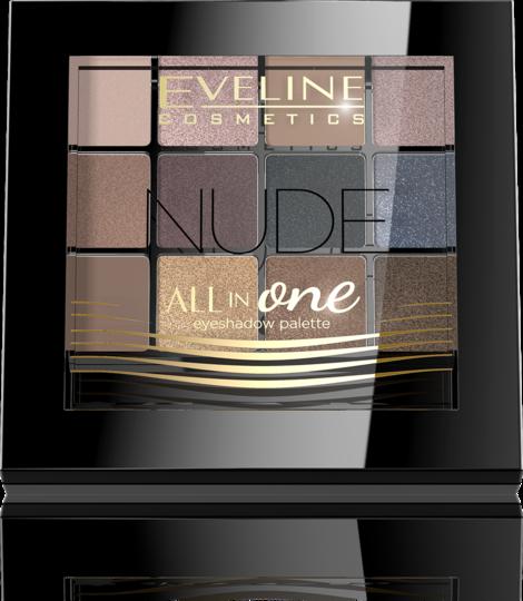 1. Eveline cosmetics Nude all in one eyeshadow palette. Фото Предоставлено организаторами