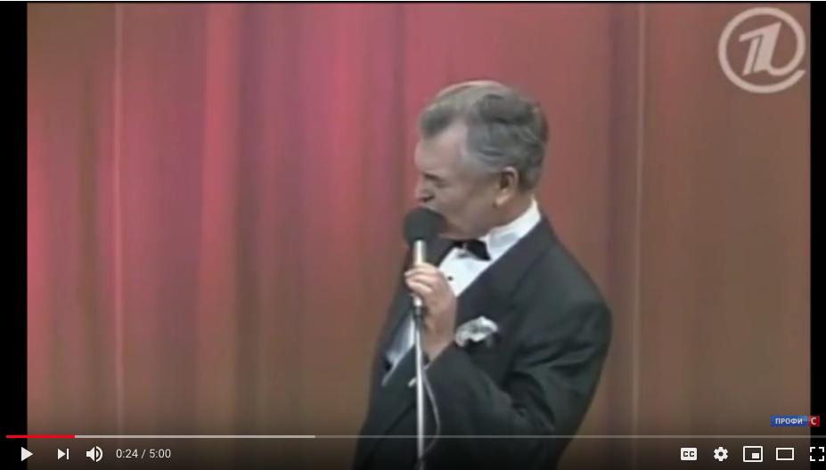 Юрий Григорьев. Фото Скриншот Youtube