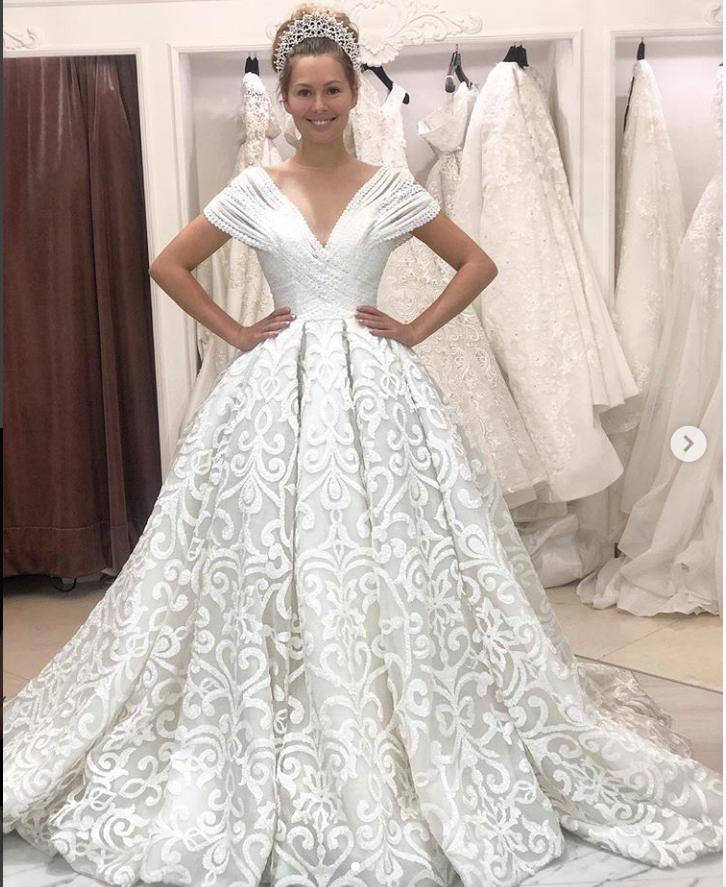 Кожевникова выложила фото в свадебном платье. Фото instagram.com/mkozhevnikova