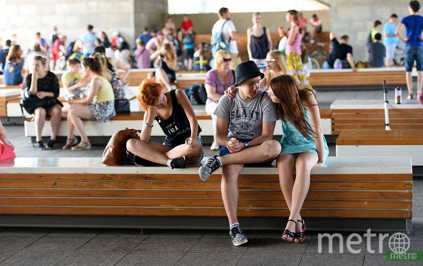Tinder назвал районы Москвы, у жителей которых больше всего шансов найти себе пару. Фото Василий Кузьмичёнок