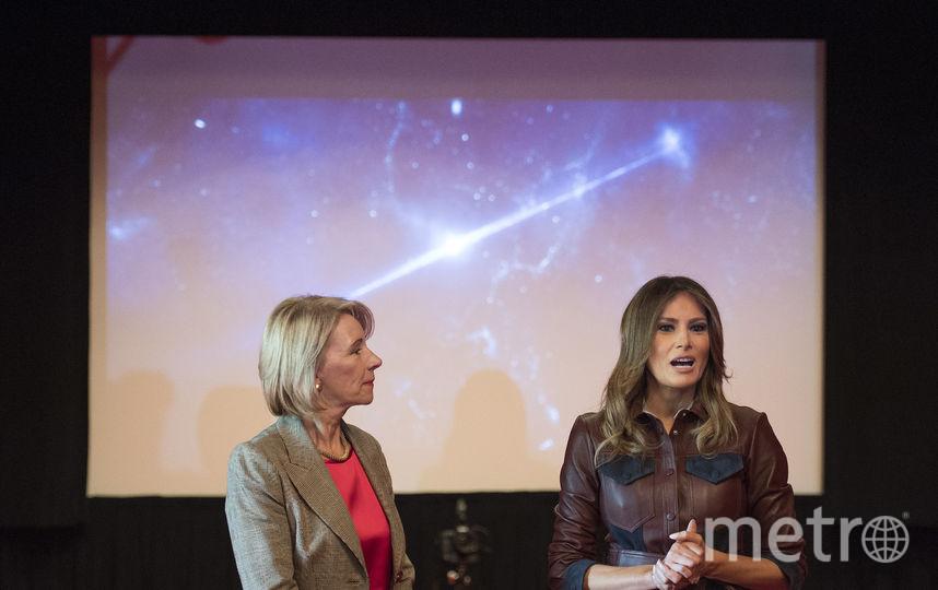 """Мелания Трамп перед показом фильма """"Чудо"""". Фото AFP"""