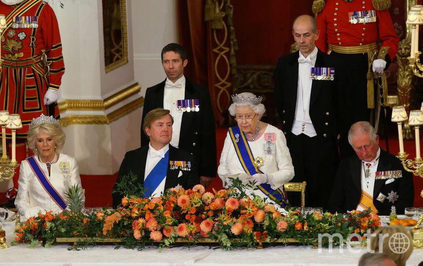 Встреча с королем и королевой Нидерландов в Лондоне. Фото Getty