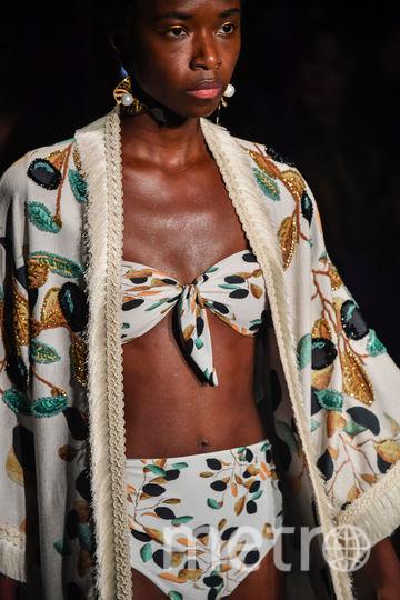 Неделя моды в Сан-Паулу. Фото AFP