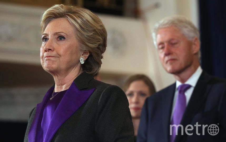 Хиллари и Билл Клинтон. Фото Getty
